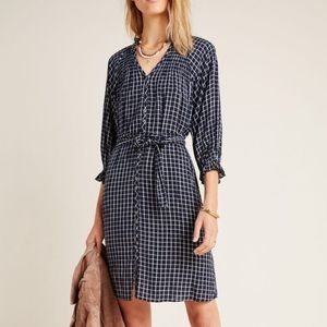 Anthropology shirt dress. New with tags size S